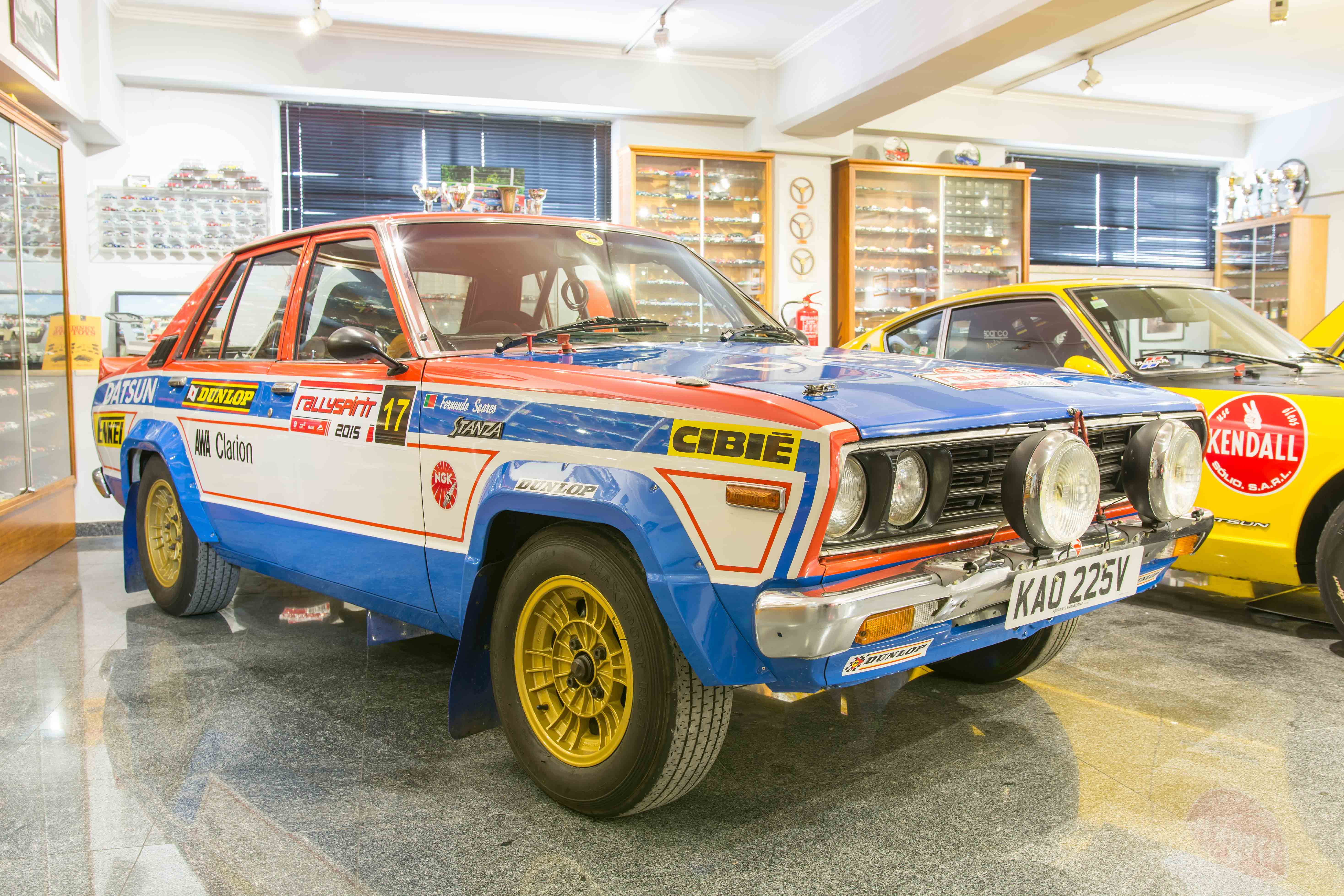 Datsun Stanza Pa 10 Nissan Ex Works Rally Car Fs Automoveis